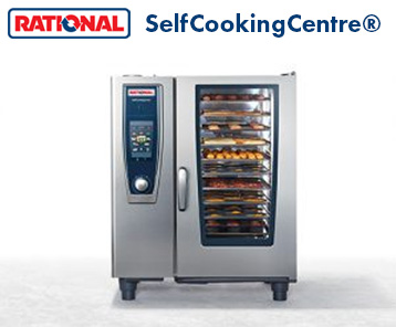 Rational SelfCookingCentre combination oven is available from Comcater & Bunzl