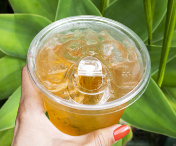 Revive's strawless lid supports sustainable business practices