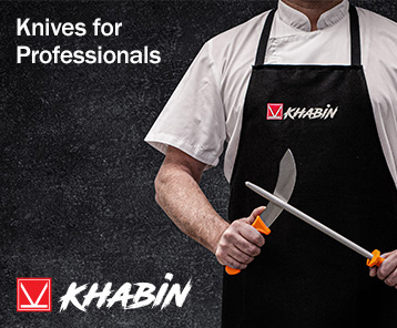 Khabin Professional Knives available from Bunzl